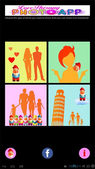 Tela do aplicativo Love Therapy.
