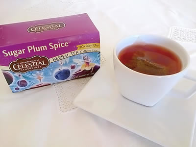 Chá do Dia: Sugar Plum Spice - Celestial Seasonings