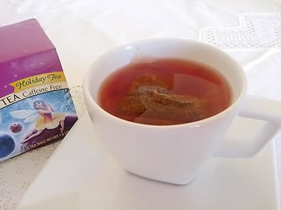 Chá do Dia: Sugar Plum Spice - Celestial Seasonings.