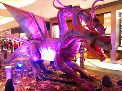 Exposição Na Era dos Dragões