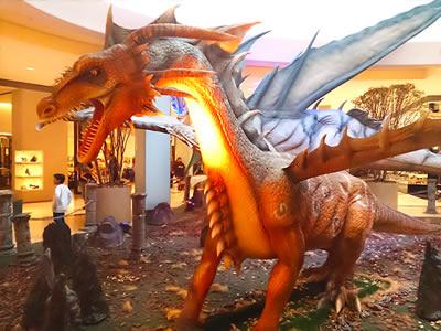 O dragão vermelho. Mito de origem na Europa.