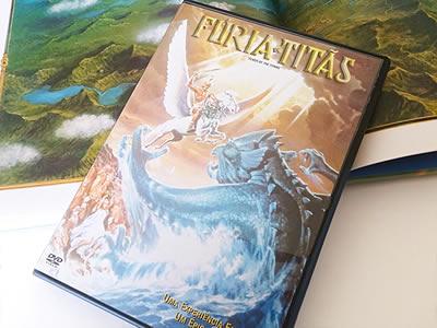 DVD Fúria de Titãs