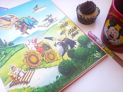 Ilustrações de Fada do livro.