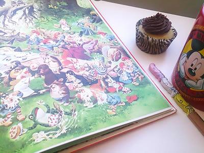 Ilustrações de Gnomos do livro.