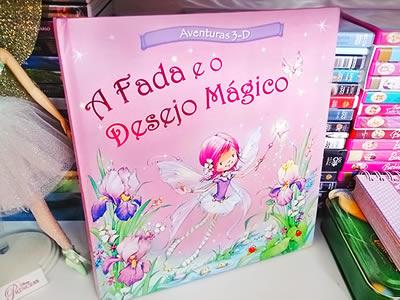 Capa do livro A Fada e o Desejo Mágico.