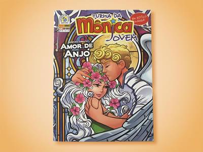 Capa Turma da Mônica Jovem - Nº 46.