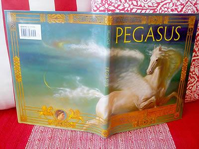 Livro Pegasus Aberto.