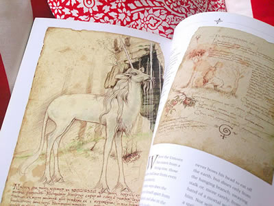 Livro The Unicornis Manuscripts.