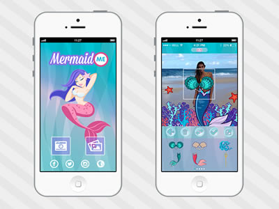 App com Sereias – Mermaid Me
