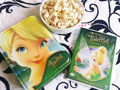 Anjos Net - DVD Tinker Bell: Uma Aventura no Mundo das Fadas