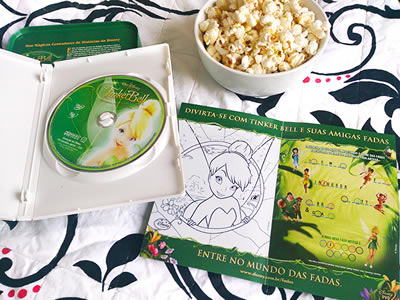 Anjos Net - Detalhes do encarte e DVD