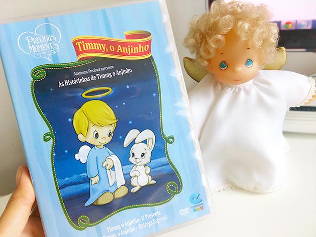 DVD Timmy, o Anjinho. Foto: Lúcia Bischoff.