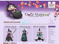 Lojas Virtuais - Dolls Mágicos