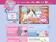 Tatty Teddy Toys - Tatty Teddy & My Blue Nose Friends Website