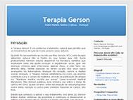 Terapia Gerson | Pedro Martins Simões | Lisboa - Portugal