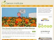 Nutrition & Recipes : Gerson Institute