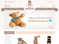 Lojas Virtuais - Apaixonados por Pelúcia